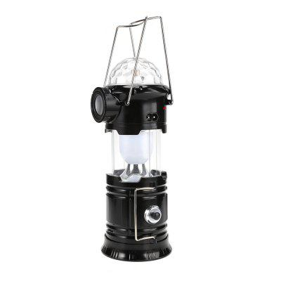 Portable LED Bluetooth SpeakerCamping Lantern Stage Light