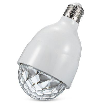 E27 Controle Remoto RGB LED Dimmable Strobe Light Bulb