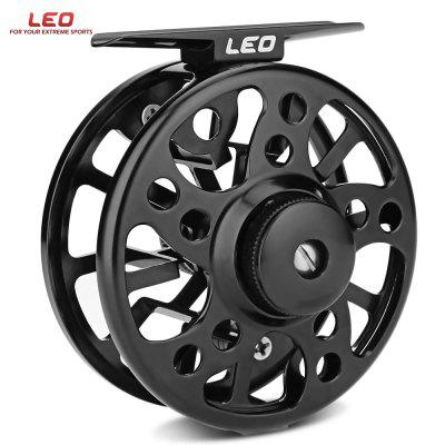 LEO 2 + 1 Ball Bearing Aluminum Alloy Ice Fly Fishing Reel