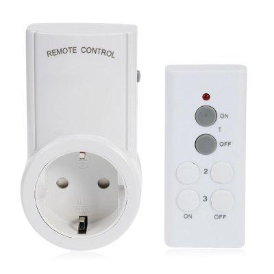 Remote Control Switch Socket