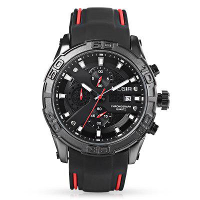 MEGIR MN2055 Men Quartz Watch Calendar ChronographMens Watches<br>MEGIR MN2055 Men Quartz Watch Calendar Chronograph<br><br>Band Length: 8.26 inch<br>Band Material Type: Silicone<br>Band Width: 24mm<br>Case material: Alloy<br>Case Shape: Round<br>Case Thickness: 0.39 inch<br>Clasp type: Pin Buckle<br>Dial Diameter: 1.77 inch<br>Dial Display: Analog<br>Dial Window Material Type: Hardlex<br>Feature: Luminous, Chronograph<br>Gender: Men<br>Movement: Quartz<br>Package Contents: 1 x Watch<br>Package Size(L x W x H): 11.50 x 7.50 x 6.50 cm / 4.53 x 2.95 x 2.56 inches<br>Package weight: 0.1870 kg<br>Product Size(L x W x H): 26.00 x 5.00 x 1.00 cm / 10.24 x 1.97 x 0.39 inches<br>Product weight: 0.1030 kg<br>Style: Business<br>Water Resistance Depth: 30m