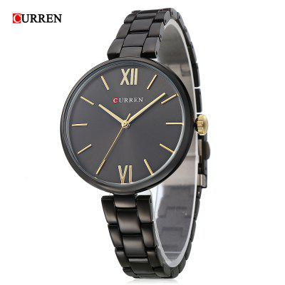 Curren 9017 Women Dial Dial Quartz Simples
