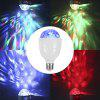 E27 Controle Remoto RGB LED Dimmable Strobe Light Bulb - RGB