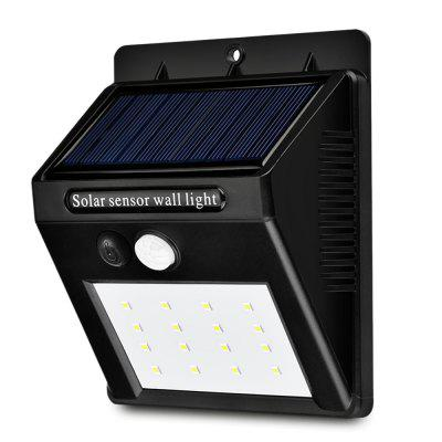 YM - SHS - 002 16 diod LED Solar Motion Sensor Wall Light