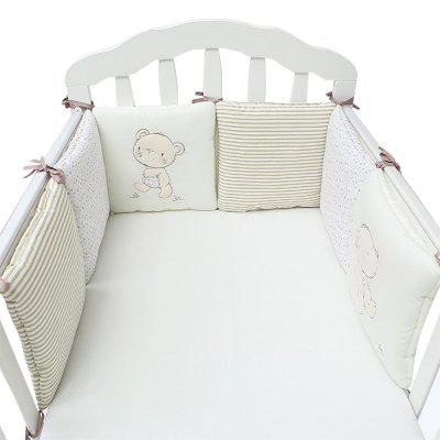 Cartoon Baby Crib Bumper