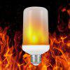 Flame009 LED E26 Flame Light Fire Atmosphere Decorative Lamp - SILVER WHITE