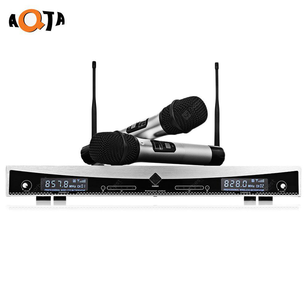 AQTA AT - 2022 Wireless UHF Microphone System Handheld Mic
