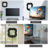ALFF022B - N HDTV Flat Antenna Indoor TV Aerial Sticker - PRETO