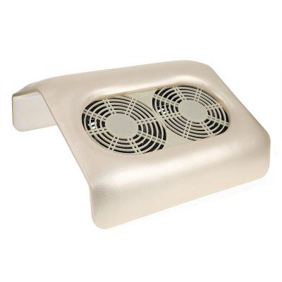 Double Fans Nail Dust Collector
