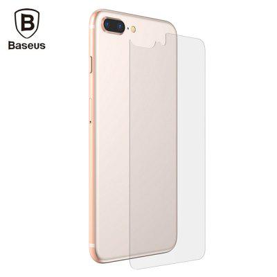 Baseus Back Case Transparent Tempered Glass for iPhone 8 Plus