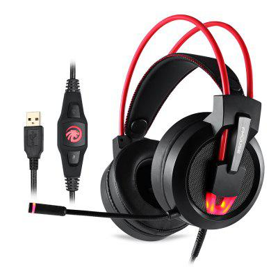 FMOUSE S200 7.1 Stereo Sound 2.5m Cable Gaming Headset