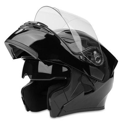 JIEKAI JK902 Motorcycle Helmet Flip-up Design Dual Lenses