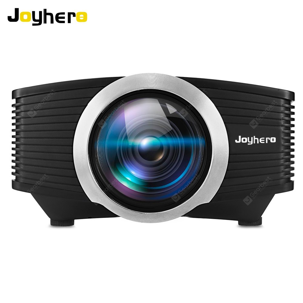 Joyhero YG510 1080P LED Projector with 2000 Lumens - BLACK EU