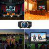 Joyhero YG510 1080P LED Projector with 2000 Lumens - BLACK