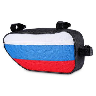 CTSmart 2.5L Russian Flag Style Sport Bicycle Storage Bag