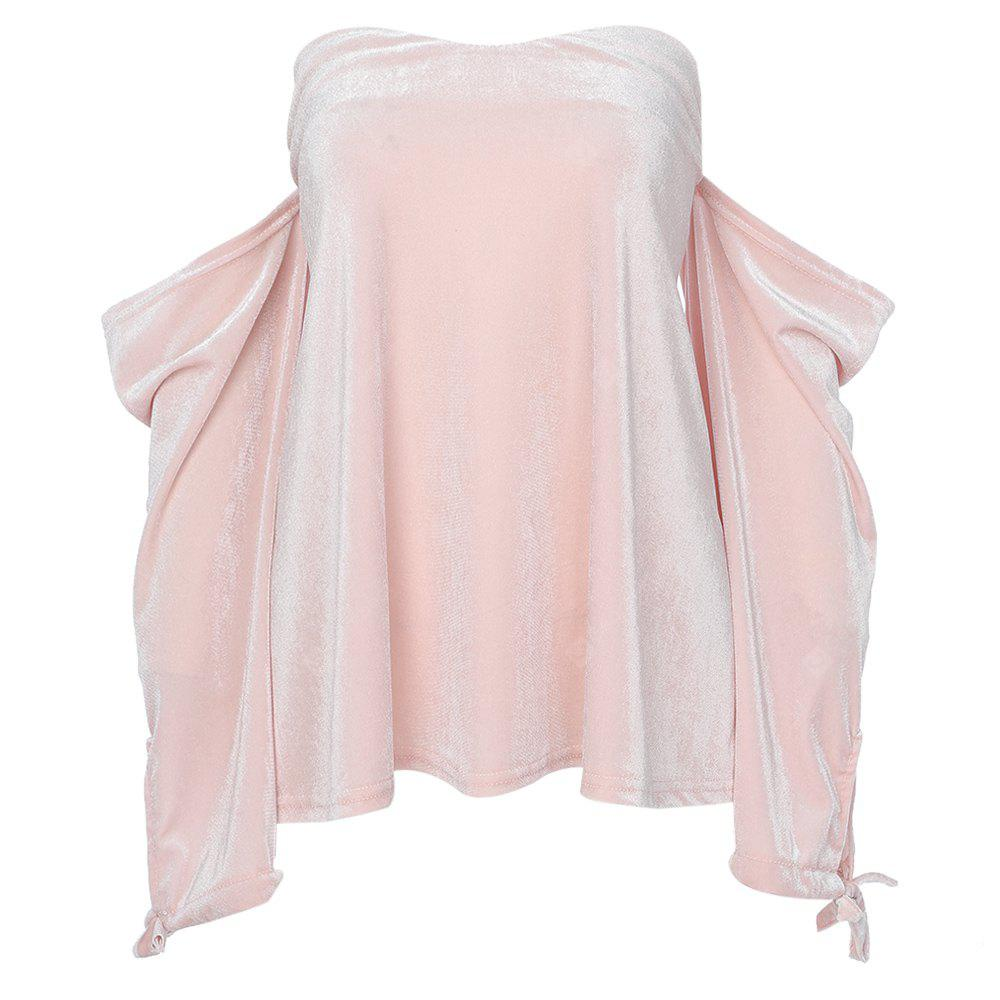 LIGHT PINK, Apparel, Women's Clothing, Blouses