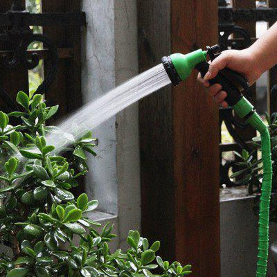 Garden Magic Water Spray Head Pipe Nozzle with 8 Modes - GREEN
