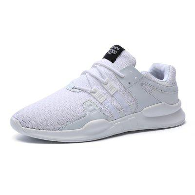 Breathable Sneakers for MenAthletic Shoes<br>Breathable Sneakers for Men<br><br>Available Size: 39,40,41,42,43,44,45,46<br>Closure Type: Lace-Up<br>Feature: Breathable<br>Gender: For Men<br>Outsole Material: PU<br>Package Contents: 1 x Pair of Shoes<br>Package Size(L x W x H): 32.00 x 21.00 x 11.00 cm / 12.6 x 8.27 x 4.33 inches<br>Package weight: 0.5500 kg<br>Pattern Type: Others<br>Product weight: 0.5000 kg<br>Season: Spring/Fall<br>Upper Material: Mesh