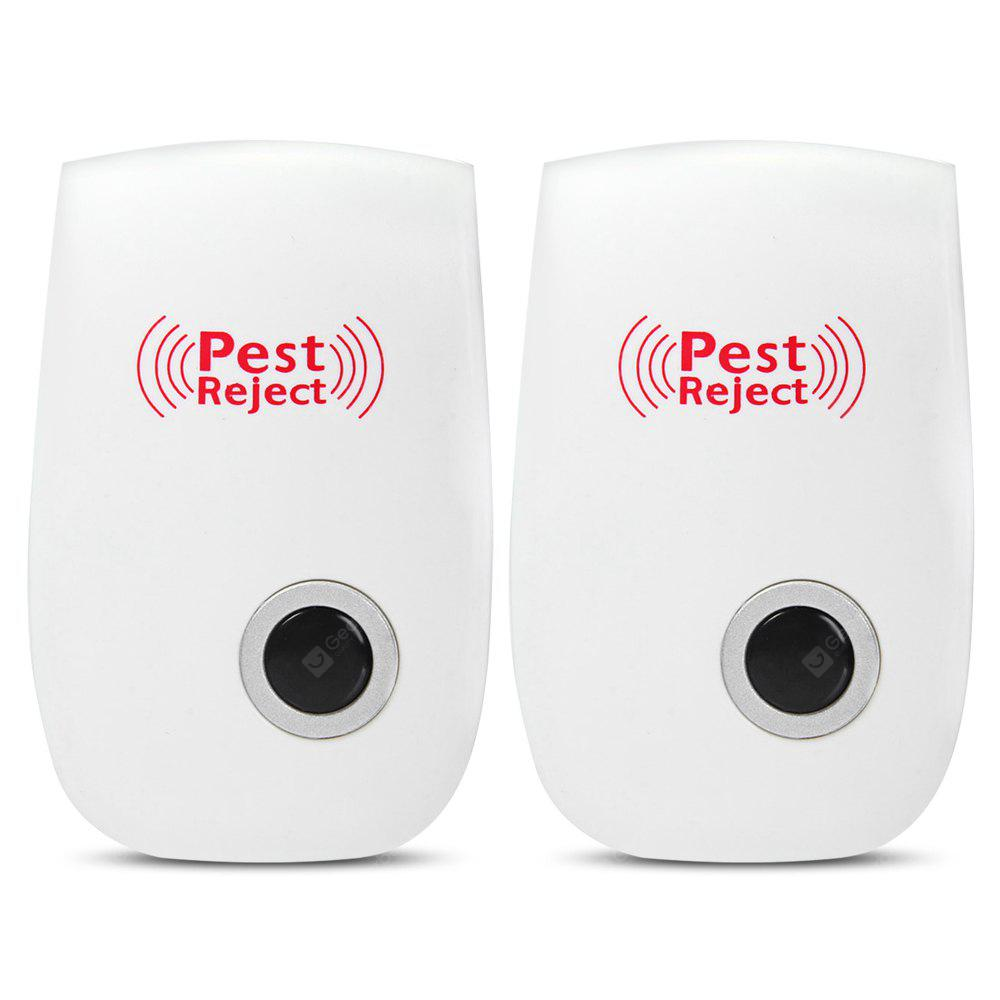 2pcs Electronic Pest Mouse Mosquito Insect Ultrasonic Rejectors