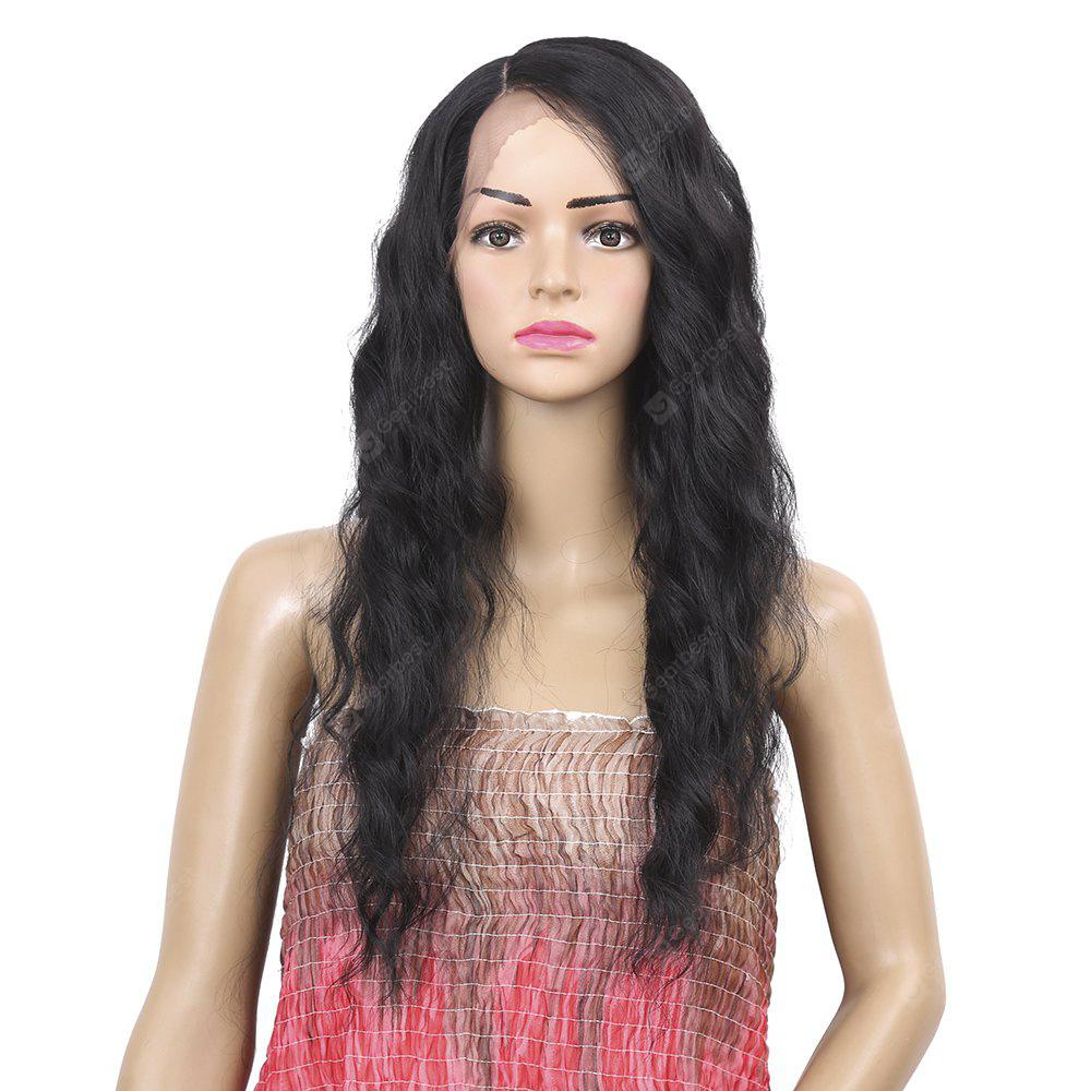 Long Wavy Synthetic Hair Lace Front High Temperature Wig