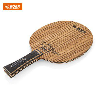 BOER Ping Pong Racket Table Tennis Paddle Bat