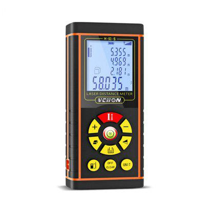 Digital Laser Distance Meter Electronic Finder with Bubble Level