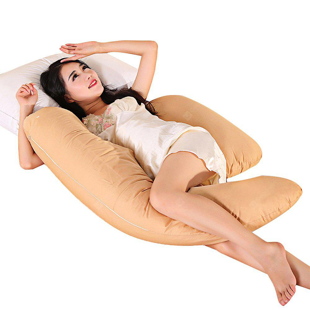 Crescent shaped Multifunctional Pregnancy Pillow CAMEL