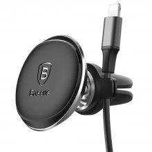 Baseus Magnetic Air Vent Car Mount with Cable Clip Holder