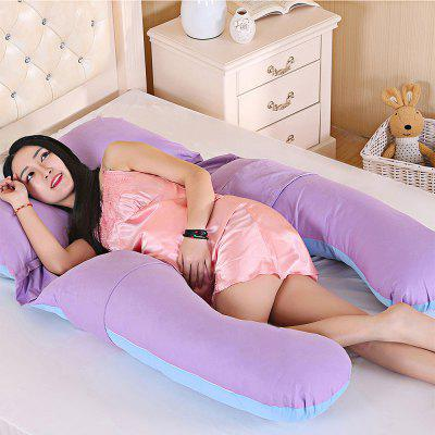 Multifunctional U-shaped Pregnant Full Body PillowHome Textile<br>Multifunctional U-shaped Pregnant Full Body Pillow<br><br>Package Contents: 1 x Pregnancy Pillow<br>Package Size(L x W x H): 80.00 x 50.00 x 12.00 cm / 31.5 x 19.69 x 4.72 inches<br>Package weight: 2.6200 kg<br>Product Size(L x W x H): 80.00 x 145.00 x 20.00 cm / 31.5 x 57.09 x 7.87 inches<br>Product weight: 2.6000 kg