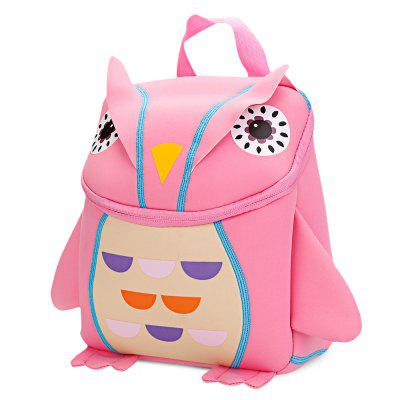 TongChang Kid School Bag 3D Cute Cartoon Owl Backpack aelicy women small backpack fashion cartoon cute owl backpacks teenage pu leather school bags student bag girls travel bags d45