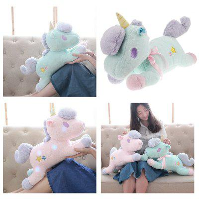 Cute Unicorn Style LED Luminous Stuffed Plush Toy Xmas GiftStuffed Cartoon Toys<br>Cute Unicorn Style LED Luminous Stuffed Plush Toy Xmas Gift<br><br>Age Range: &gt; 3 years old<br>Features: Flashing, Soft<br>Gender: Unisex<br>Material: Plush<br>Package Contents: 1 x Stuffed Toy<br>Package Size(L x W x H): 55.50 x 16.50 x 33.50 cm / 21.85 x 6.5 x 13.19 inches<br>Package weight: 0.5750 kg<br>Product Size(L x W x H): 55.00 x 16.00 x 33.00 cm / 21.65 x 6.3 x 12.99 inches<br>Product weight: 0.5500 kg<br>Type: Plush/Nano Doll