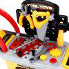 Ranxian RX1900-9  27pcs Kids Repair Tools Trolley Toys - YELLOW