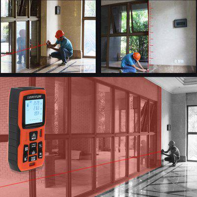 Laser Rangefinder Digital Distance Meter Battery-poweredLaser Rangefinder, Electronic Distance Meter<br>Laser Rangefinder Digital Distance Meter Battery-powered<br><br>Package Contents: 1 x Laser Distance Meter, 2 x AAA Battery, 1 x Charger, 2 x AAA Ni-MH Battery, 1 x Portable Pouch, 1 x Hanging Rope, 1 x Chinese User Manual, 1 x Reflector Board<br>Package Size(L x W x H): 24.00 x 17.00 x 6.00 cm / 9.45 x 6.69 x 2.36 inches<br>Package weight: 0.4250 kg<br>Product Size(L x W x H): 12.00 x 5.00 x 3.00 cm / 4.72 x 1.97 x 1.18 inches<br>Product weight: 0.1000 kg
