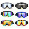 BF657 Motorcycle Goggles for Skiing Climbing Riding - BLACK