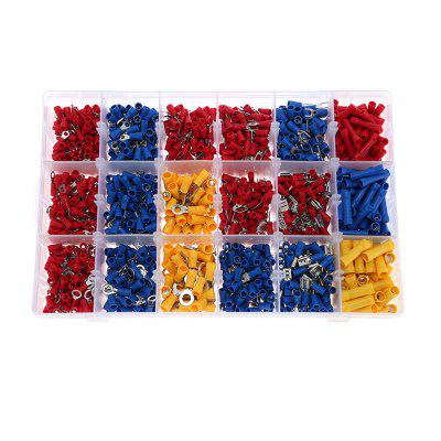 1200pcs Assorted Crimp Terminals Electrical Wiring Connectors