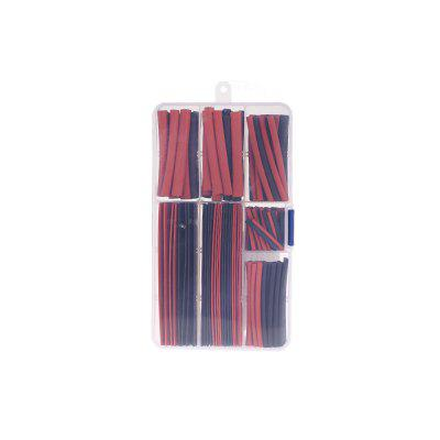 Heat Shrink Tubing 150pcsDIY Parts &amp; Components<br>Heat Shrink Tubing 150pcs<br><br>Application Scope: Cable Insulation<br>Package Contents: 150 x Heat Shrink Tubing, 1 x Storage Box<br>Package size (L x W x H): 18.00 x 10.00 x 2.50 cm / 7.09 x 3.94 x 0.98 inches<br>Package weight: 0.1350 kg<br>Product weight: 0.1130 kg<br>Types: Heat Shrink Tubing