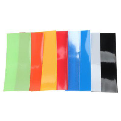 PVC Heat Shrink Tubing Tube Sleeves for 18650 Battery 280pcs