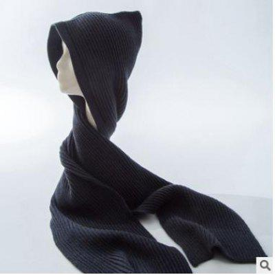 M71-22-B Variety Scarf Warm Knit Hat Autumn And Winter Korean Version Of Shawl Parent-Child Scarf Hat