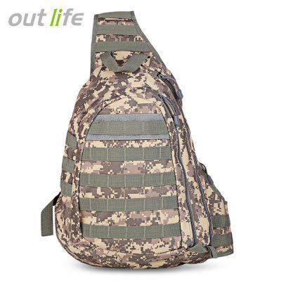Outlife 15L Outdoor Tactical Single Shoulder Bag Chest Pack
