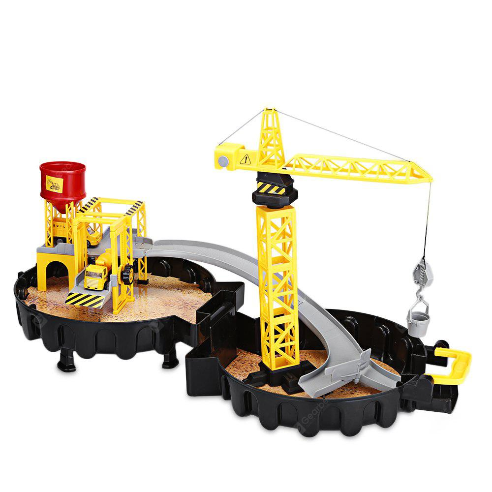 WY205 Construction Sites with Diecast Play Set Garage Toys - $27.95 ...