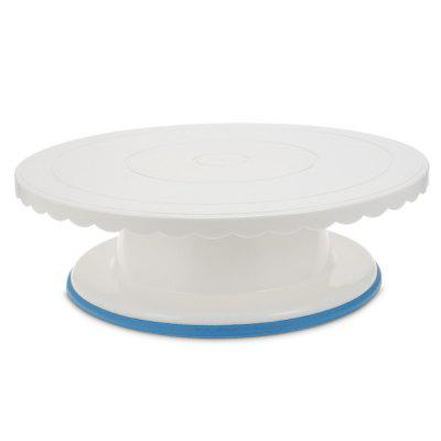 Round Cake Turntable Rotating Stand