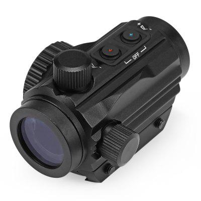 Tactical 1X22 Red Dot Illuminated Sight for 20MM Rail
