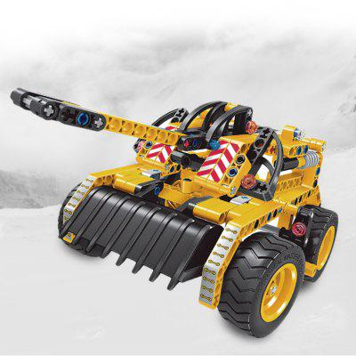 2 in 1 Construction Bulldozer Assembled Blocks Toy 261pcsBlock Toys<br>2 in 1 Construction Bulldozer Assembled Blocks Toy 261pcs<br><br>Age Range: &gt; 6 years old<br>Material: ABS<br>Package Contents: 5 x Pack of Unassembled Accessories<br>Package Size(L x W x H): 37.00 x 28.00 x 6.00 cm / 14.57 x 11.02 x 2.36 inches<br>Package weight: 0.7700 kg<br>Product weight: 0.2990 kg