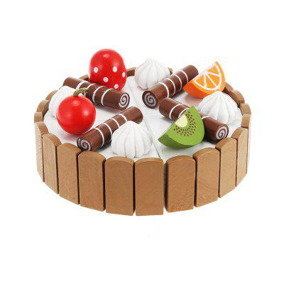 Magnetic Mini Cream Fruits Cake Children Educational Toy