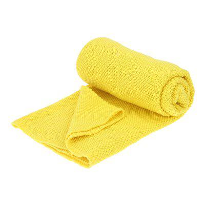 Cotton Knitted Wool Nap Sleeping Blankets Sleeper Cover