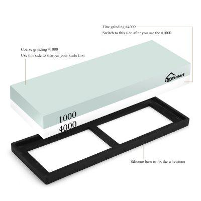 iLifeSmart Knife Sharpening Stone with 1000 / 4000 Grit knife