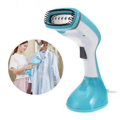 Handheld Mini Garment Steamer Home Portable Steam IronLaundry Appliances<br>Handheld Mini Garment Steamer Home Portable Steam Iron<br><br>Package Contents: 1 x Steam Iron, 1 x Adapter, 1 x Folding Hanger, 1 x Measuring Cup, 2 x Hook, 1 x Chinese User Manual<br>Package size (L x W x H): 34.00 x 20.00 x 13.00 cm / 13.39 x 7.87 x 5.12 inches<br>Package weight: 1.2360 kg<br>Product weight: 0.7300 kg<br>Voltage (V): 220V