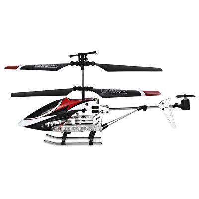 Flytec TY901 3.5-channel Infrared Remote Control HelicopterRC Helicopters<br>Flytec TY901 3.5-channel Infrared Remote Control Helicopter<br><br>Action Time: 6 - 8 minutes<br>Age Range: &gt; 14 Years old<br>Charging Time: 30 - 40 minutes<br>Control Channels: 3.5 Channels<br>Controller Battery: 6 x AA battery<br>Controller Mode: MODE2<br>Material: Electronic Components, Metal, Plastic<br>Motor: Brush Motor<br>Package Contents: 1 x Remote Control Helicopter, 1 x Remote Control, 1 x Helicopter Tail, 1 x Bilingual Manual (English and Chinese)<br>Package Size(L x W x H): 39.00 x 9.50 x 14.00 cm / 15.35 x 3.74 x 5.51 inches<br>Package weight: 0.4120 kg<br>Power Source: Electric<br>Product Size(L x W x H): 18.50 x 5.00 x 9.50 cm / 7.28 x 1.97 x 3.74 inches<br>Product weight: 0.1920 kg<br>Remote Control: Yes<br>Remote Distance: About 15M<br>State of Assembly: Ready to fly<br>Warning: Please read instruction carefully before operating helicopter.