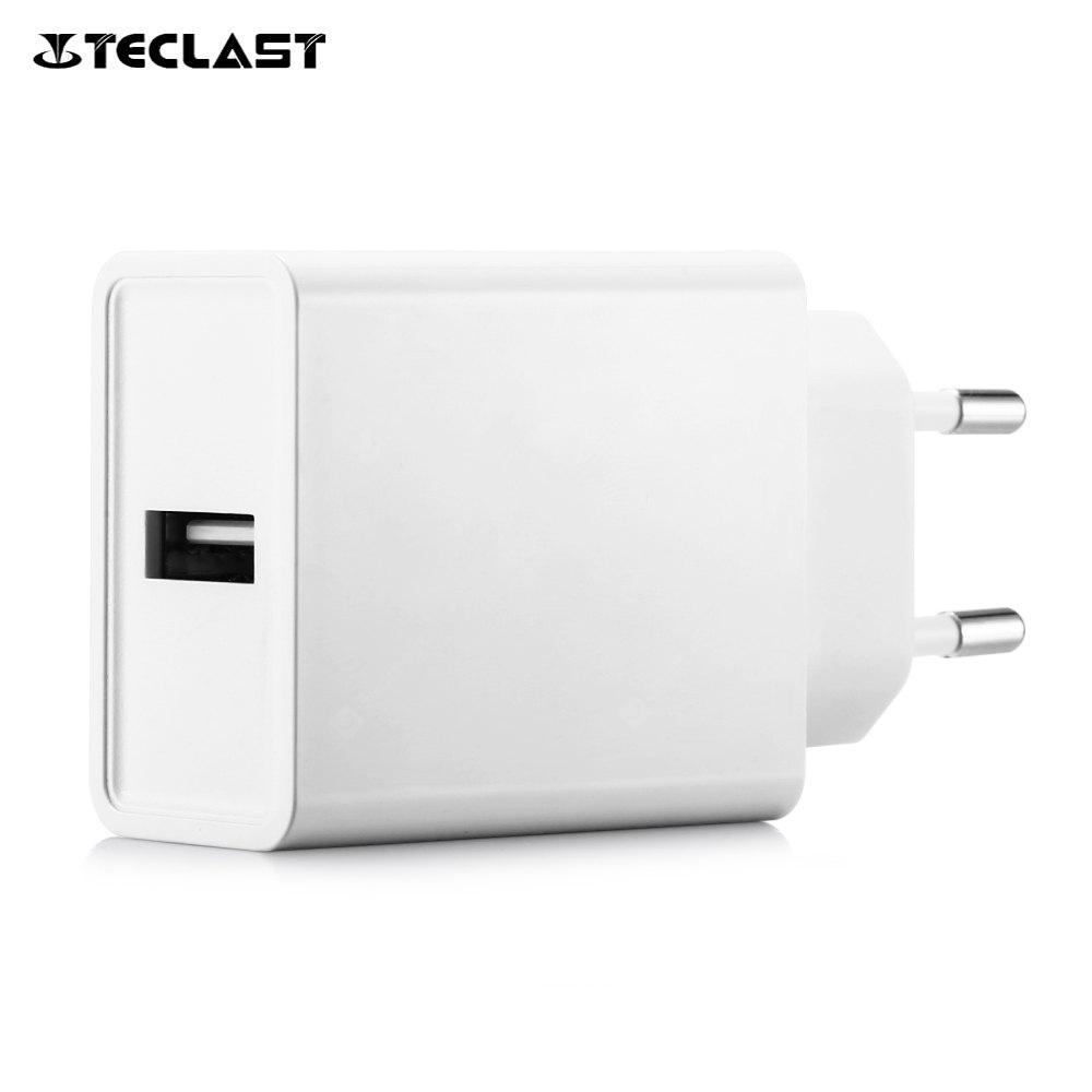 Teclast APS - KI018WE - G QC3.0 Fast Charger White EU Plug for Teclast Master T8 / T10