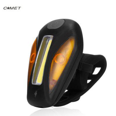 Comet USB Rechargeable Bicycle Front Light Bike Tail Lamp